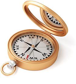 Arthuur Routes kompas